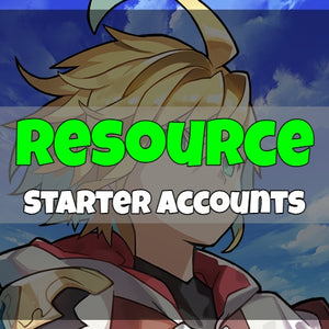 Dragalia Lost - Fresh Resource Starter Accounts