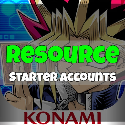 Yu-Gi-Oh! Duel Links - Fresh Resource Starter Accounts