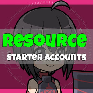 BOFURI - Fresh Resource Starter Accounts