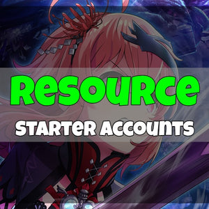 Project Tokyo Dolls - Fresh Resource Starter Accounts