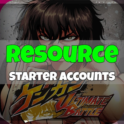 Ultimate Battle - Fresh Resource Starter Accounts