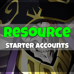 Overlord Mass of the Dead - Fresh Resource Starter Accounts