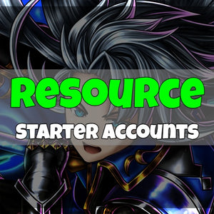 Grand Summoners - Fresh Resource Starter Accounts