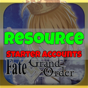 Fate/Grand Order - Fresh Resource Starter Accounts