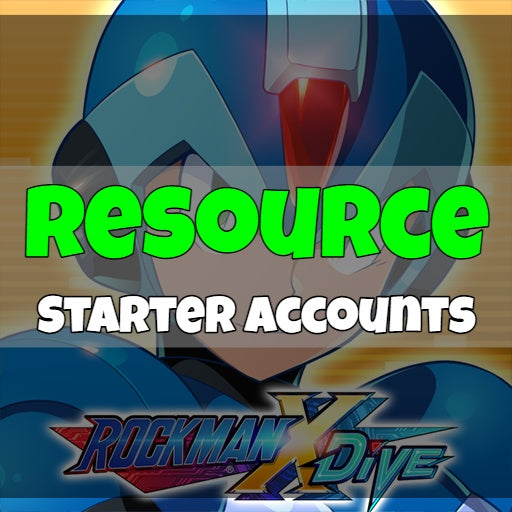 Megaman X Dive - Fresh Resource Starter Accounts