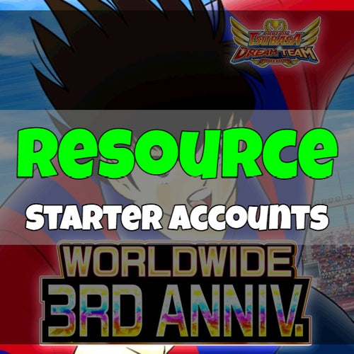 Captain Tsubasa Dream Team - Fresh Resource Starter Accounts