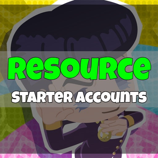Jojo's Pitter-Patter POP! - Fresh Resource Starter Accounts