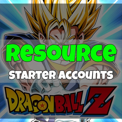 Dragon Ball Z Dokkan Battle - Fresh Resource Starter Accounts (Japan)