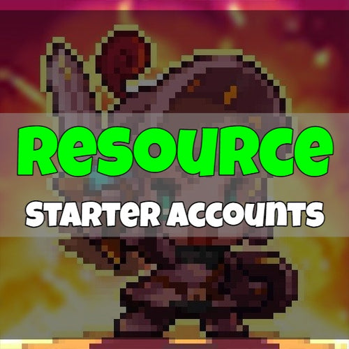 Guardian Tales - Fresh Resource Starter Accounts