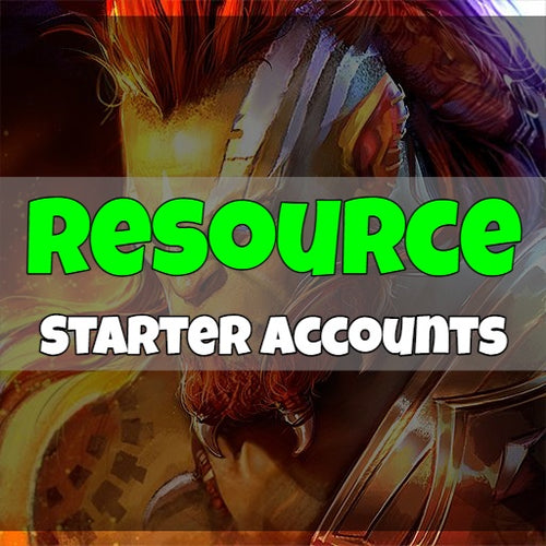 Raid: Shadow Legend - Fresh Resource Starter Accounts