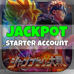 Weekly Jump Heroes Battle! My Collection 2 - Jackpot Starter Account