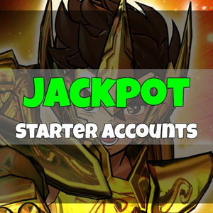 Saint Seiya Shining Soldiers - Fresh Jackpot Starter Accounts