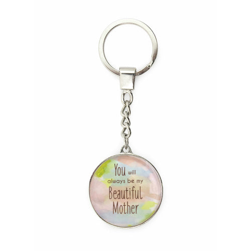 Beautiful Mother Keyring
