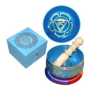 Brass Chakra Singing Bowl - Large