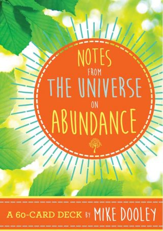 Notes From The Universe On Abundance Cards