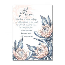 Load image into Gallery viewer, Mum Ceramic Affirmation Plaque
