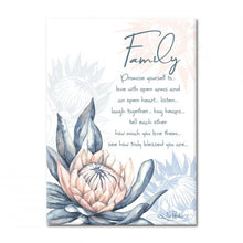 Load image into Gallery viewer, Protea - Ceramic Affirmation Plaque
