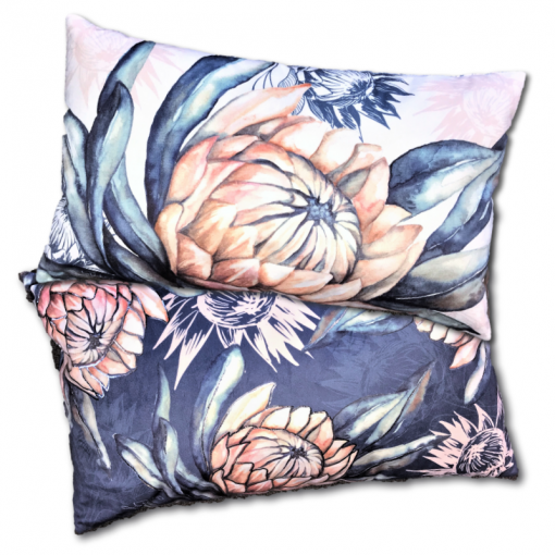 Protea - Velvet Cushion