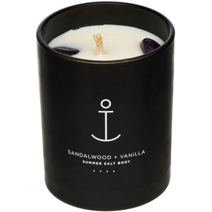Crystal Infused Soy Candle