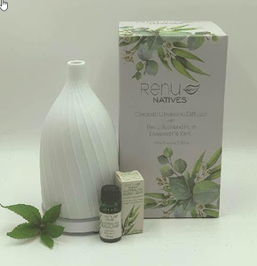 Renu Native Ceramic Ultrasonic Diffuser