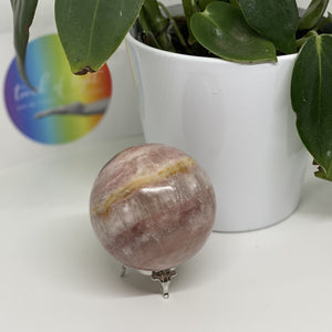 Rose Calcite Sphere