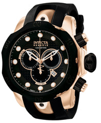 Invicta Men's 0361 Venom Quartz Chronograph Black Dial Watch