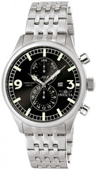 Invicta Men's 0365 Specialty Quartz Multifunction Black Dial Watch
