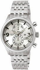 Invicta Men's 0366 Specialty Quartz Multifunction Silver Dial Watch