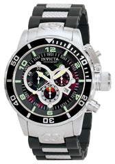 Invicta Men's 0477 Corduba Quartz Chronograph Black Dial Watch