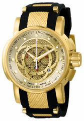 Invicta Men's 0899 S1 Rally Quartz Chronograph Gold Dial Watch