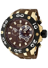 Invicta 0916 Men's Subaquanomacol Quartz Chronograph Brown Dial Watch