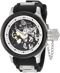 Invicta Men's 10051 Russian Diver Mechanical 3 Hand Silver Dial Watch