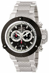 Invicta  Men's 10191 Subaqua Quartz Chronograph Black Dial Watch