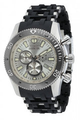 Invicta Men's 10243 Sea Spider Quartz Chronograph Silver Dial Watch