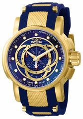 Invicta Men's 10564 S1 Rally Quartz Chronograph Blue Dial Watch