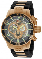 Invicta Men's 10621 Corduba Quartz 3 Hand Charcoal Dial Watch