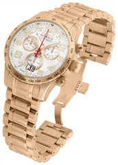 Invicta Men's 10743 Reserve Quartz Chronograph White Dial Watch
