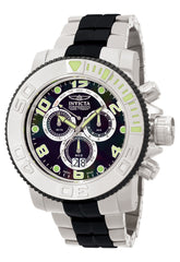 Invicta Men's 10766 Sea Hunter Quartz Chronograph Black Dial Watch