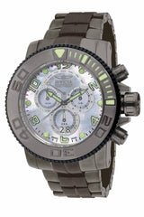 Invicta Men's 10770 Sea Hunter Quartz Chronograph Platinum Dial Watch