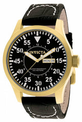Invicta Men's 11190 Specialty Quartz Multifunction Black Dial Watch