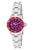 Invicta Women's 12523 Pro Diver Quartz 3 Hand Purple Dial Watch