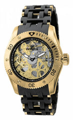 Invicta Men's 1261 Sea Spider Mechanical 3 Hand Black Dial Watch