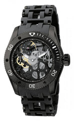 Invicta Men's 1263 Sea Spider Mechanical 3 Hand Black Dial Watch