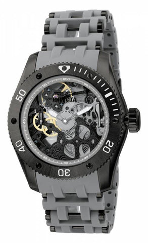 Invicta Men's 1264 Sea Spider Mechanical 3 Hand Grey Dial Watch