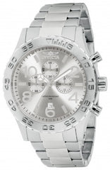 Invicta Men's 1269 Specialty Quartz Chronograph Silver Dial Watch