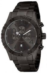 Invicta Men's 1272 Specialty Quartz Chronograph Gunmetal Dial Watch