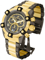Invicta Men's 12984 Reserve Quartz Chronograph Gunmetal Dial Watch