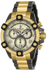 Invicta Men's 12985 Reserve Quartz Chronograph Gold Dial Watch