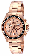 Invicta Men's 14393 Specialty Quartz Chronograph Rose Gold Dial Watch