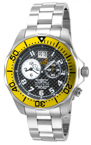 Invicta Men's 14441 Pro Diver Quartz 2 Hand Black Dial Watch